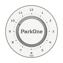 ParkOne 2 p-skive - Alpine White
