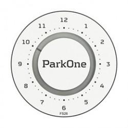 ParkOne 2 parkeringsskive - Alpine White