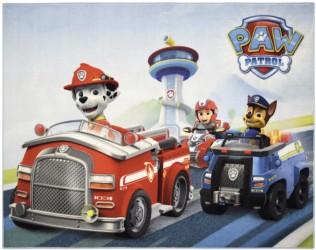 Paw Patrol ''Til Undsætning ''Deluxe gulvtæppe til børn 95x125