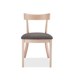 Penang spisebordsstol - hvidvasket bøg