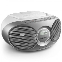 Philips Boombox AZ215 Sølv