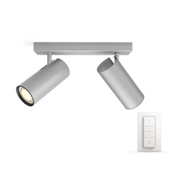 Philips Connected spot - White ambiance - Buratto - Aluminium