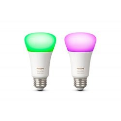 Philips Hue White and color ambiance pakke med 2 - E27