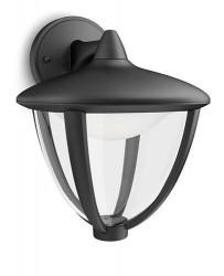 Philips myGarden Robin LED Væglampe NED - Sort