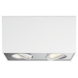 Philips myLiving loftlampe med spot - Box - Hvid