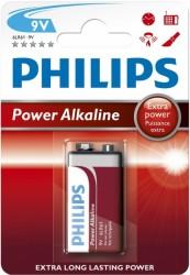 Philips - Power Alkaline 9V Batteri
