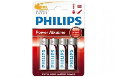 Philips - Power Alkaline AA Batteri