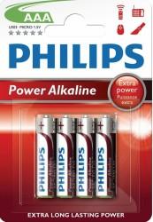 Philips - Power Alkaline AAA Batteri