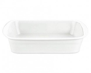 Pillivuyt Lasagnefad hvid, 29x24 cm