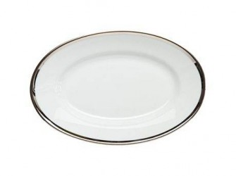 Pillivuyt Underskål Hvid, Sølv