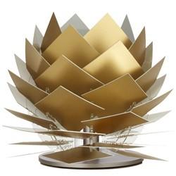 PineApple XS Lav bordlampe, Guld-look