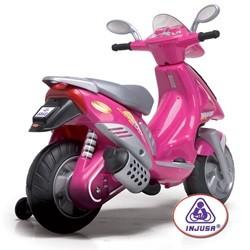 Pink Scooter el motorcykel 6V