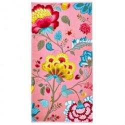 Pip Studio håndklæde - Floral fantasy - Pink
