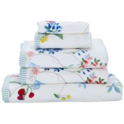 Pip Studio håndklæder - Hummingbirds - Hvid
