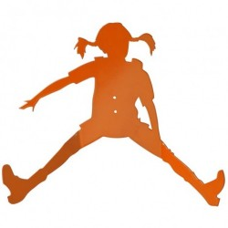 Pippi knage orange