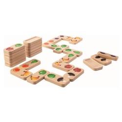 Plantoys domino - Frugt