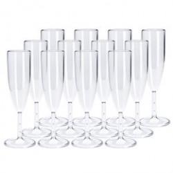 Plast1 champagneglas - 12 stk.