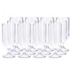 Plast1 ølglas - 12 stk.