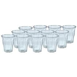 Plast1 vandglas - 12 stk.
