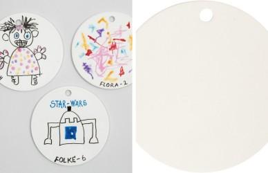 Platte, Dia 15 cm til dekoration 1. stk
