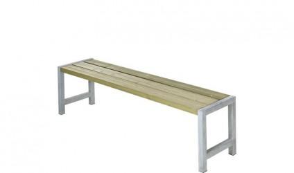 Plus - Havebænk med planker - Trygimprægneret