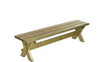 Plus - Nostalgi Plankebænk L177 cm - Trygimprægneret