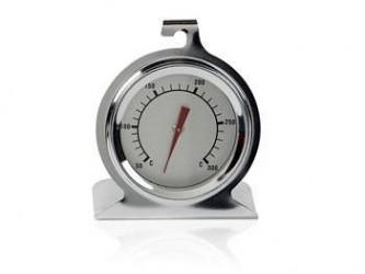 Plus termometre Ovnstermometer m fod Stål
