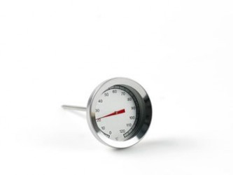 Plus termometre Stegetermometer rund 530 Stål