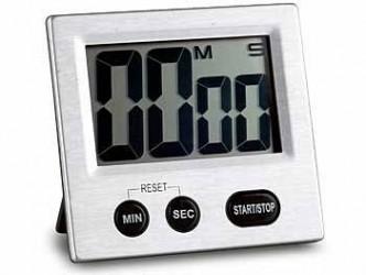 Plus termometre Timer digital stor display