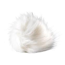 Pompon - Hvid