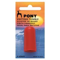 Pony strikkefingerbøl