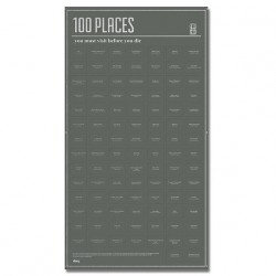 Poster 100 places