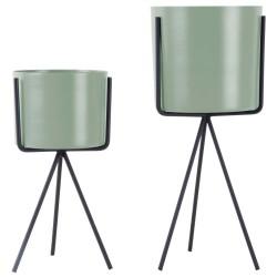 Present Time plantepottesæt - Piedestal - Grøn