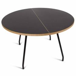 Primum spisebord (sort linoleum)