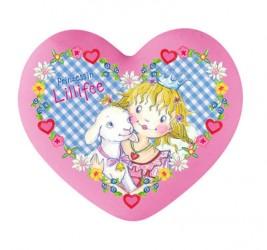 Prinsesse Lillefe viskelæder, hjerte