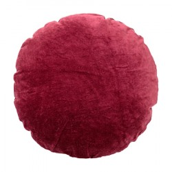 Pude Rød Fløjl 45cm