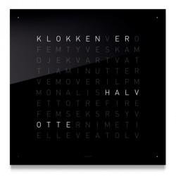 Qlocktwo classic (stÅl/sort)