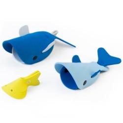 Quutopia badelegetøj i skum - Deep Sea Whales