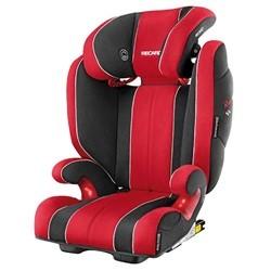 Recaro monza nova 2 seatfix rød/sort