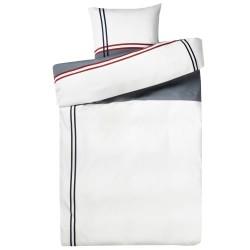 Redgreen sengetøj - Hvid & grå