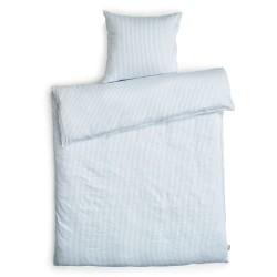 Redgreen sengetøj - Lyseblå og hvide striber
