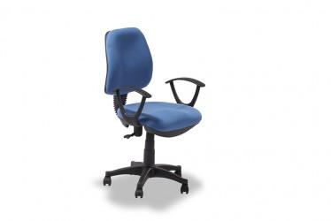 Regal blå kontorstol