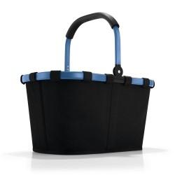 Reisenthel indkøbskurv - sort/blå