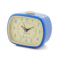 Retro alarm ur (blÅ)