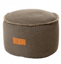 Retro puf (mØrkebrun)