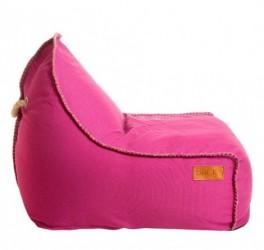 Retro sÆkkestol (pink)