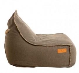 Retro sÆkkestol udendØrs (brun)