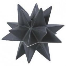 Rex stjerne lysestage (sort/13 cm)