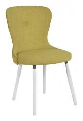 RGE Betty spisebordsstol - grøn stof, uden armlæn