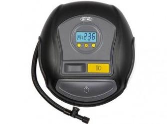 Ring Luftkompressor Digital - Oppumpning 3 min - 12V DC stik - Inkl. adaptere og praktisk taske